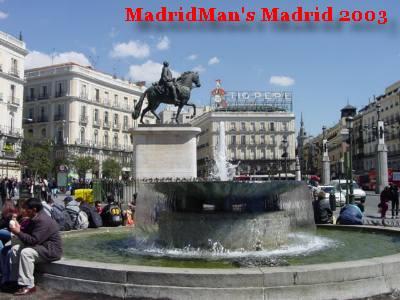MadridMan's Madrid 2003!: Puerta del Sol