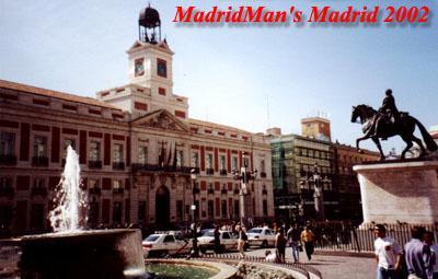 MadridMan's Madrid 2002!: Puerta del Sol