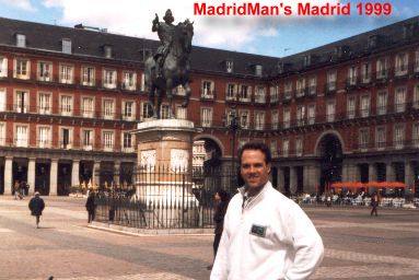 MadridMan in Plaza Mayor